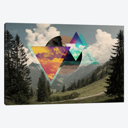 Tesseract of the Southern Alps Canvas Print #ICA562} by 5by5collective Canvas Art Print