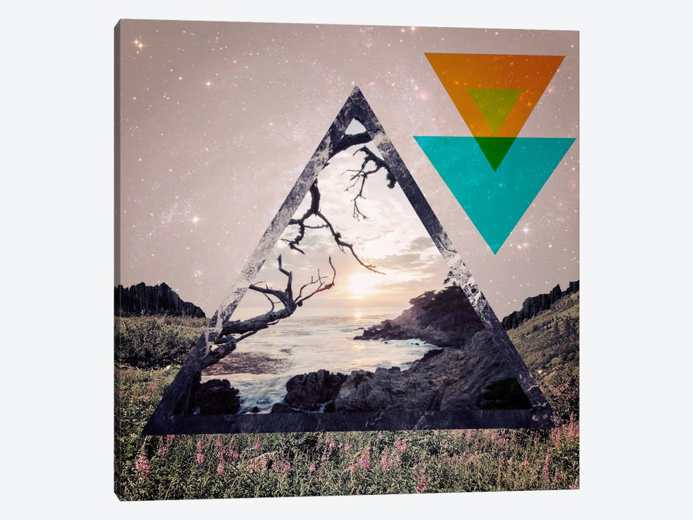 Tetra-Shift by 5by5collective 1-piece Canvas Print
