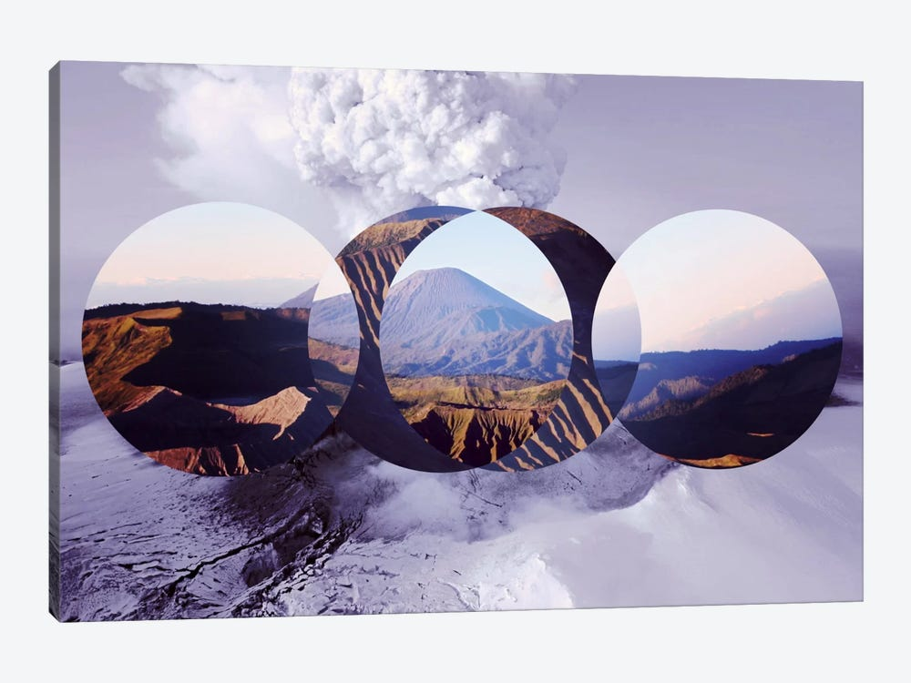 Mountain Ranges II by 5by5collective 1-piece Canvas Wall Art