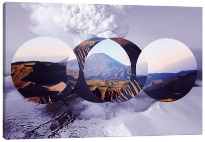 Mountain Ranges II Canvas Art Print