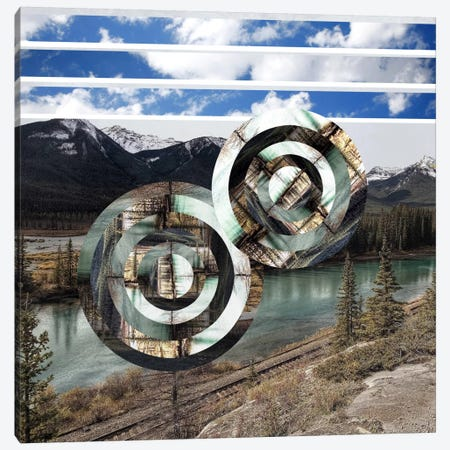Rural Vortex Canvas Print #ICA568} by 5by5collective Art Print
