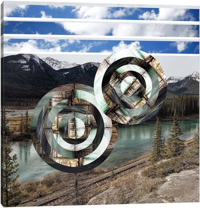 Rural Vortex Canvas Art Print