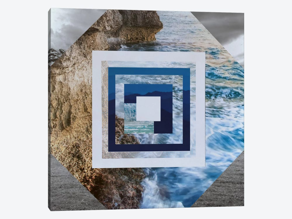 Waters Edge by 5by5collective 1-piece Canvas Art