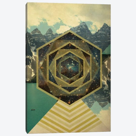 Metamorphosis of Space Canvas Print #ICA576} by 5by5collective Art Print