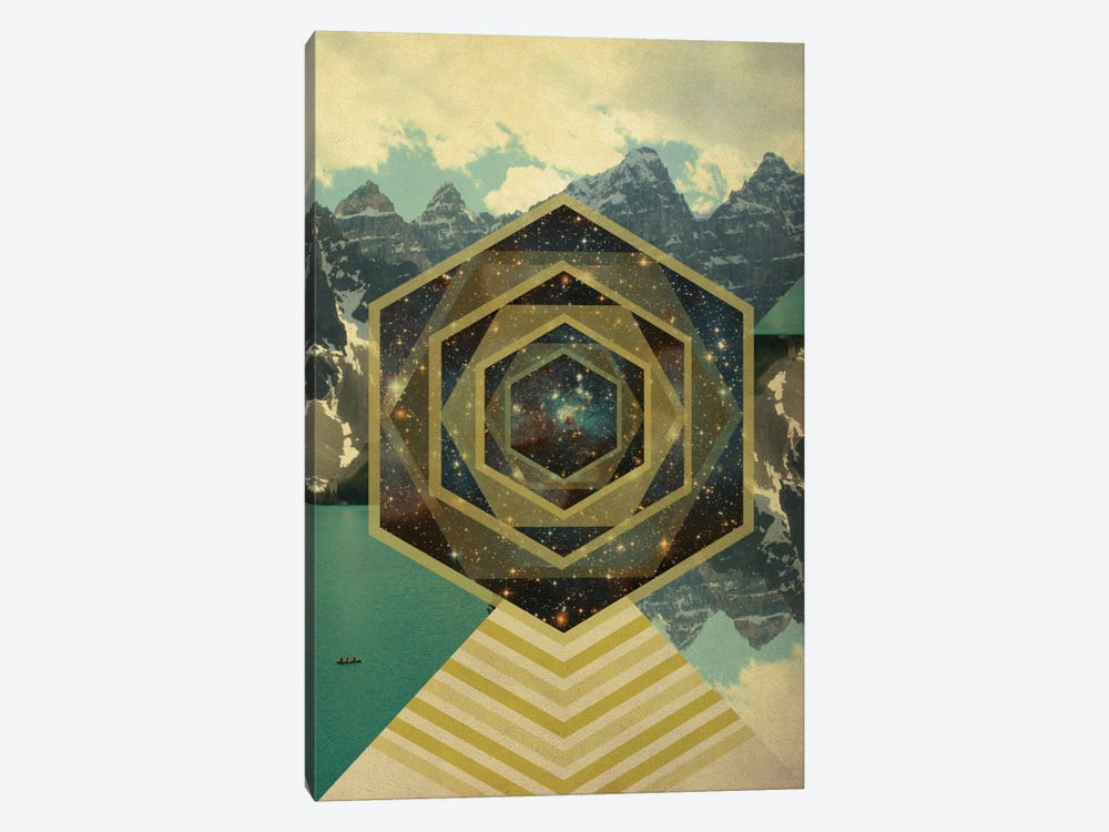 Metamorphosis of Space by 5by5collective 1-piece Canvas Art Print