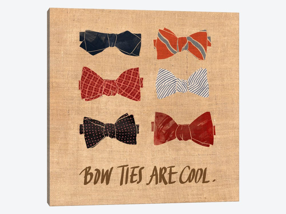 Bow Ties by 5by5collective 1-piece Art Print