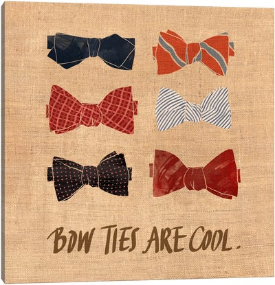Bow Ties Canvas Art Print