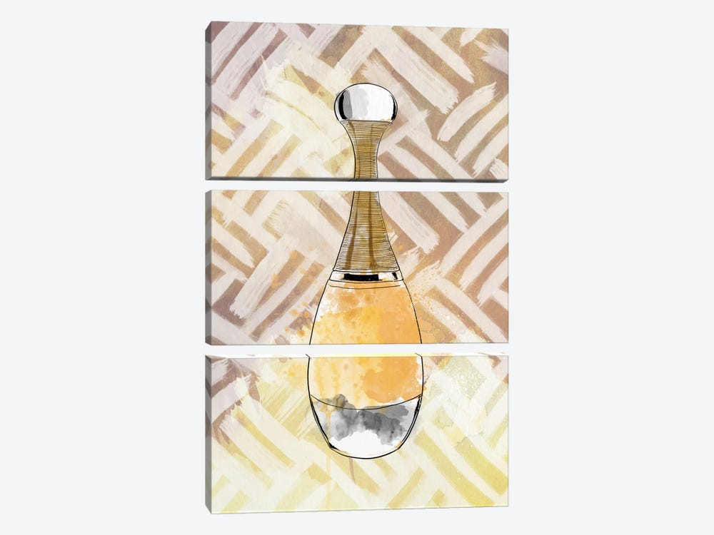 Pesca Perfumo by 5by5collective 3-piece Canvas Print