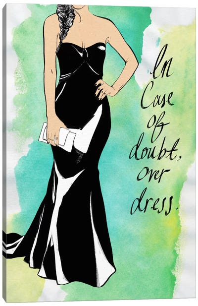 Overdress Canvas Art Print