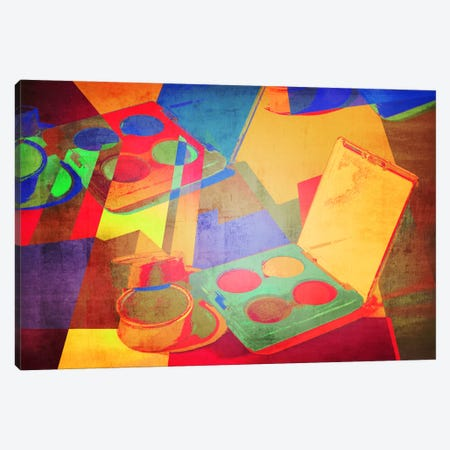 Preperation Pop Art Canvas Print #ICA592} by 5by5collective Canvas Artwork