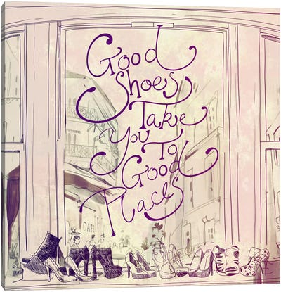 Good Shoes Canvas Art Print