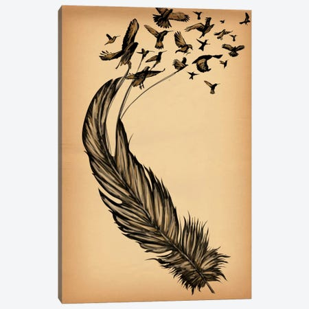 All From a Feather Canvas Print #ICA5} by Unknown Artist Canvas Art