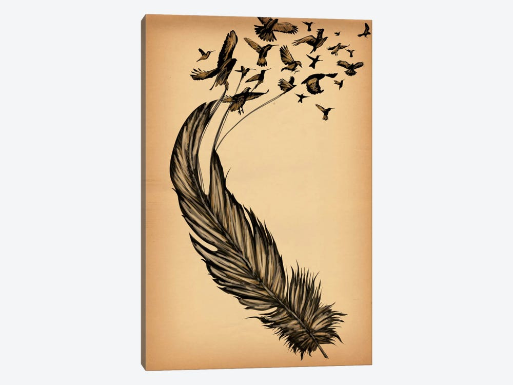 All From a Feather by Unknown Artist 1-piece Canvas Art