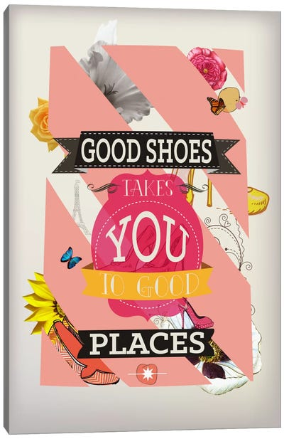 Good Shoes 2 Canvas Art Print