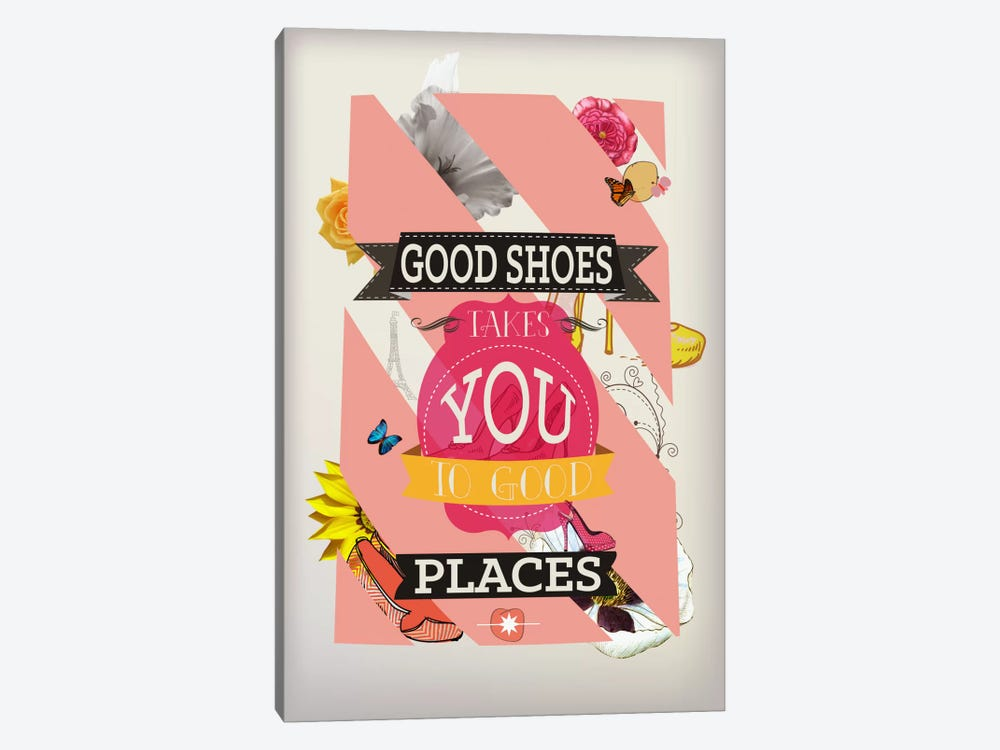 Good Shoes 2 by 5by5collective 1-piece Canvas Print
