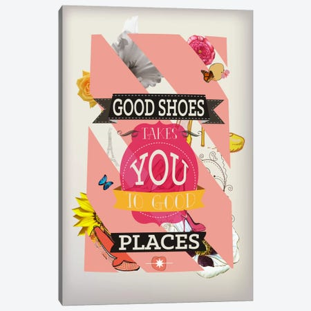 Good Shoes 2 Canvas Print #ICA616} by 5by5collective Canvas Artwork