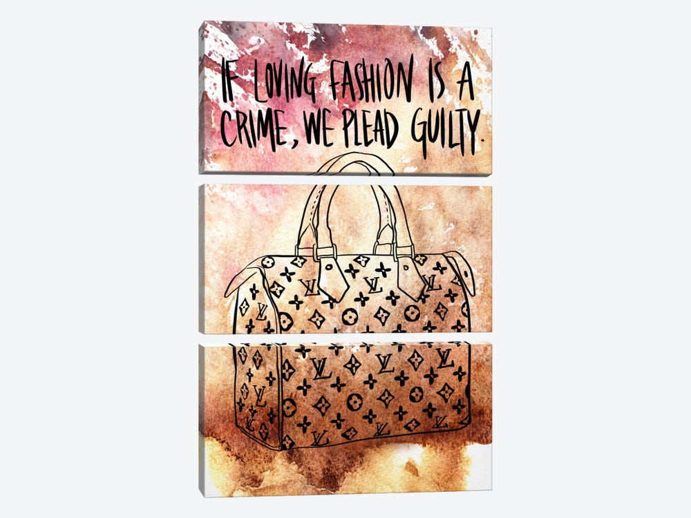 Guilty by 5by5collective 3-piece Art Print