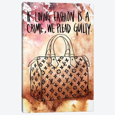 Guilty Canvas Print #ICA630} by 5by5collective Canvas Art Print