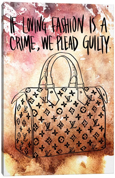 Guilty Canvas Art Print