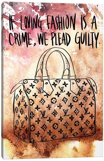 Guilty Canvas Art Print