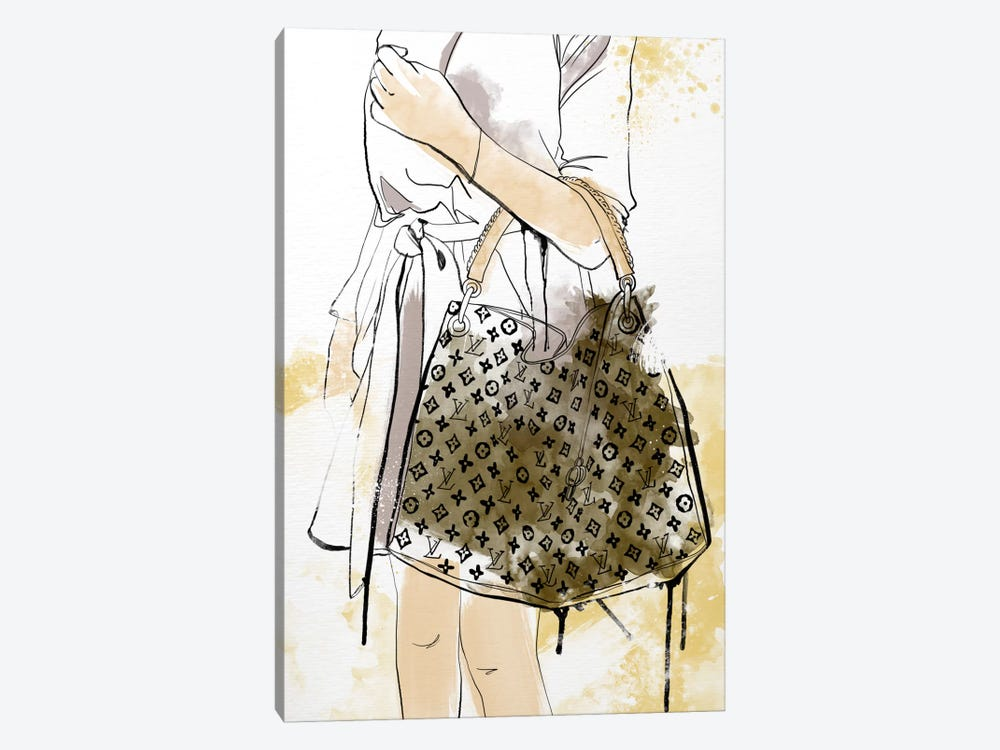 Bags Are My Weakness by 5by5collective 1-piece Canvas Artwork