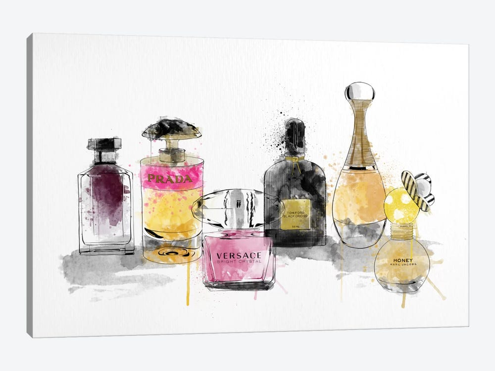 Aquarelle by 5by5collective 1-piece Canvas Artwork