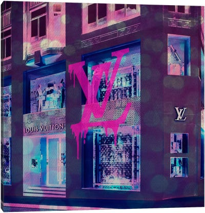 LV Store Pop Canvas Art Print
