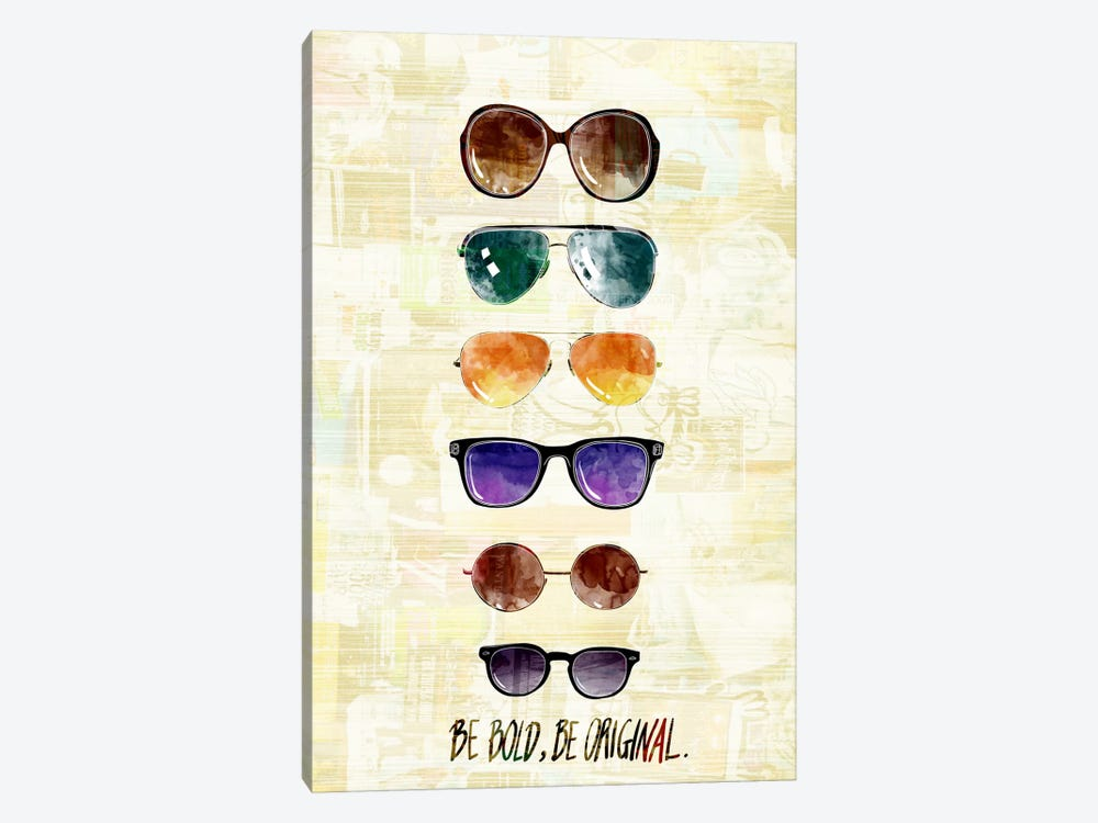 Be Bold, Be Original by 5by5collective 1-piece Canvas Print