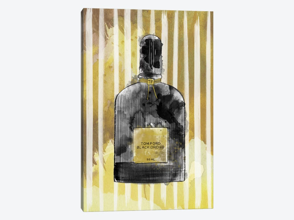 Black Orchid by 5by5collective 1-piece Canvas Art