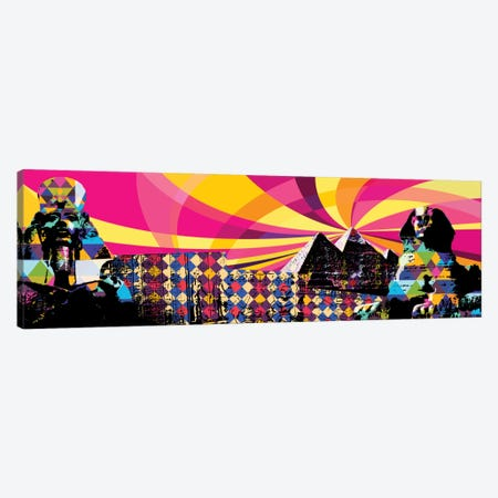 Cairo Psychedelic Pop Canvas Print #ICA646} by 5by5collective Art Print