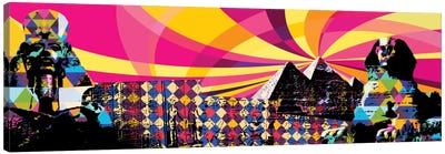Cairo Psychedelic Pop Canvas Art Print