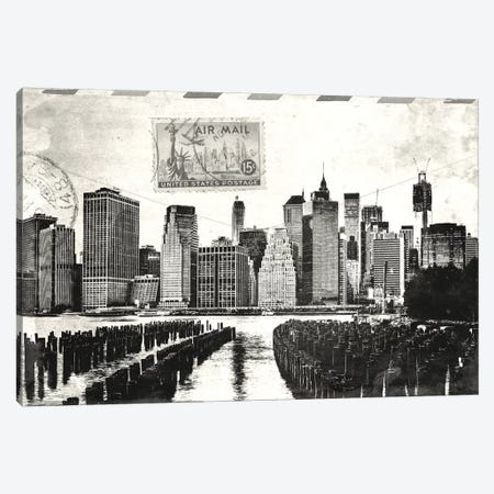 Letter from Manhattan Canvas Print #ICA683} by Unknown Artist Canvas Art