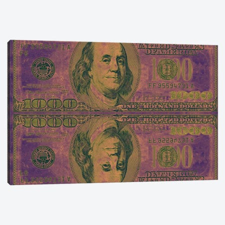 Play Money Canvas Print #ICA695} by 5by5collective Canvas Artwork