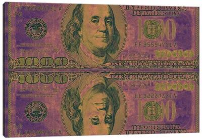 Play Money Canvas Art Print