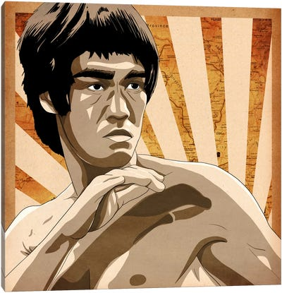 Bruce, Rising Sun Canvas Art Print