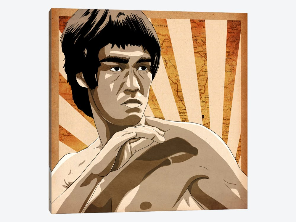 Bruce, Rising Sun by 5by5collective 1-piece Art Print
