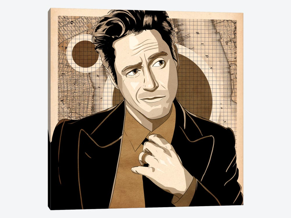 Smug Robbie by 5by5collective 1-piece Canvas Art Print