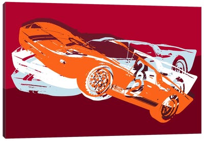 GT Canvas Art Print