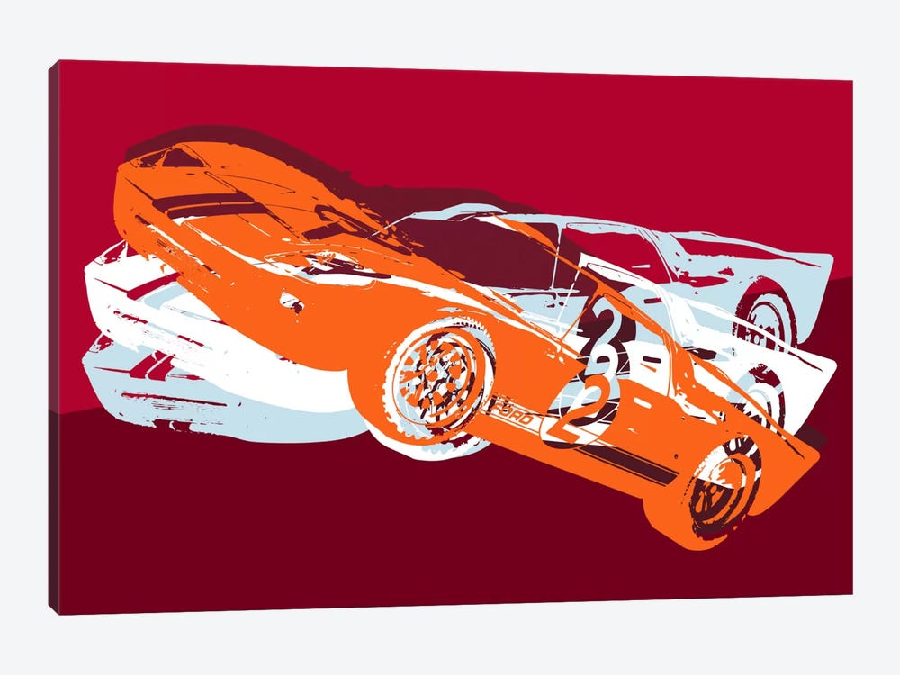 GT 1-piece Canvas Wall Art