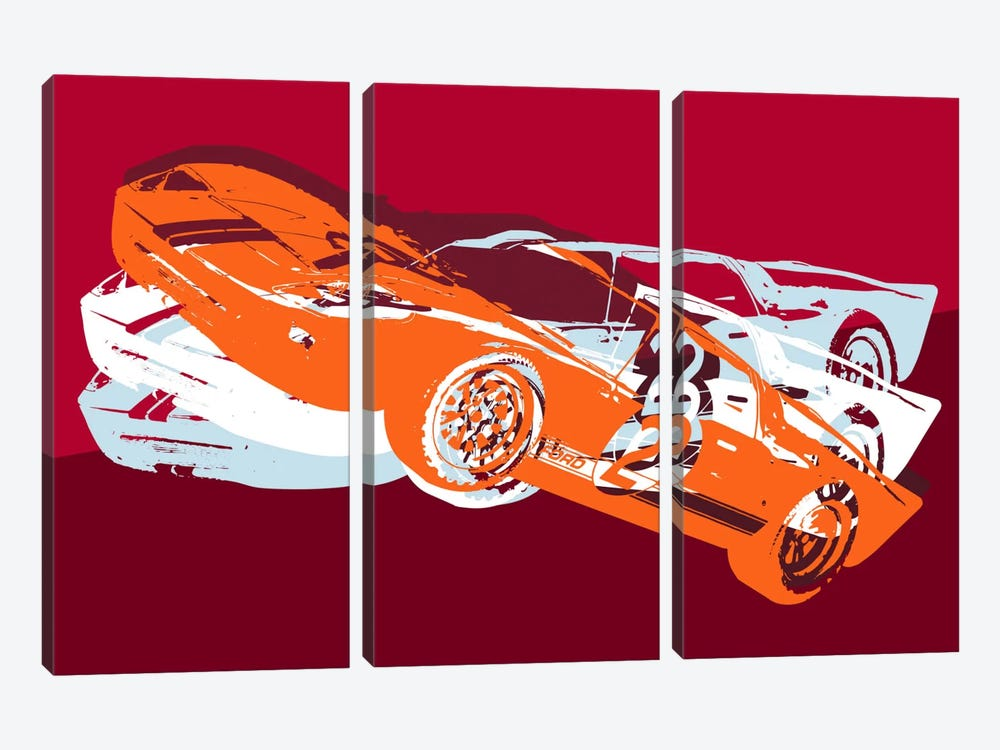 GT by 5by5collective 3-piece Canvas Artwork