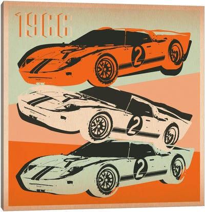 GT 2 Canvas Art Print