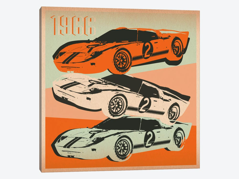 GT 2 by 5by5collective 1-piece Canvas Print