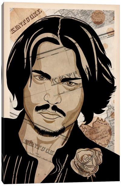 Johnny Back Home Canvas Art Print