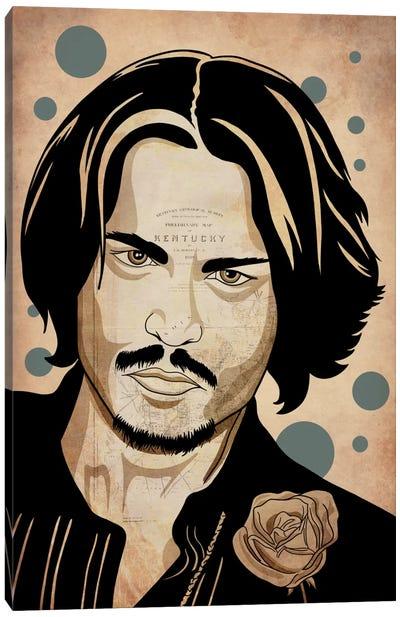 Johnny Pop Canvas Art Print
