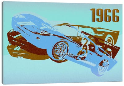 GT 3 Canvas Art Print