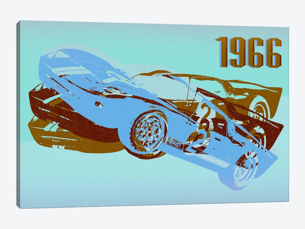 GT 3 by 5by5collective 1-piece Canvas Art