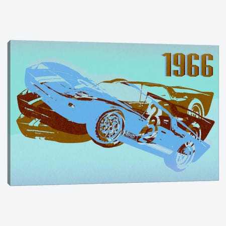 GT 3 Canvas Print #ICA75} by 5by5collective Art Print