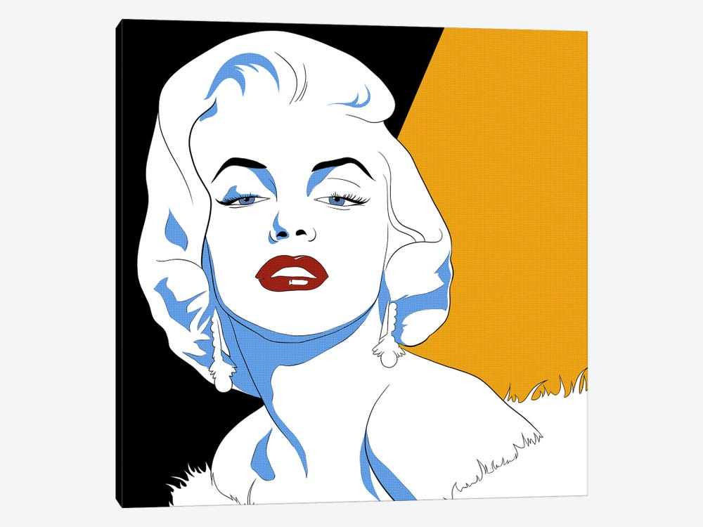 Marilyn's Gaze by 5by5collective 1-piece Art Print