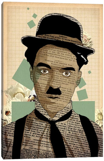 Quizzical Charlie  Canvas Art Print