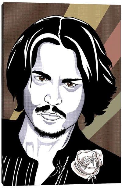 Johnny the Charmer Canvas Art Print